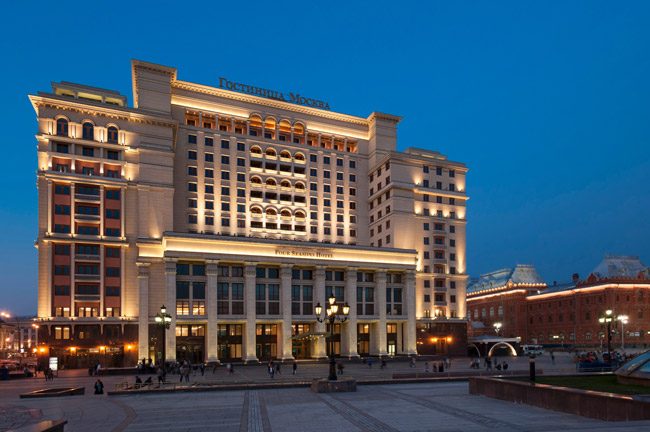 The Four Seasons Hotel Moscow is now open.