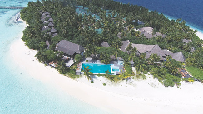 The Outrigger Maldives Konotta Resort.