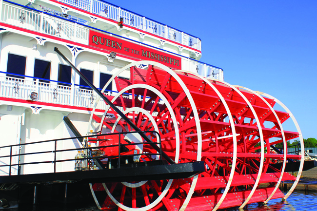 American Cruise Lines'  Queen of the Mississippi.