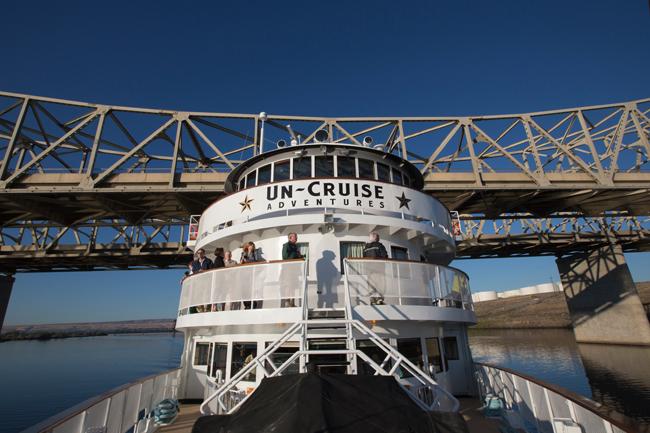 Un-Cruise Adventures'  88-passenger S.S. Legacy.