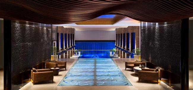 Fiesta Americana Grand Coral Beach Cancun's gem-inspired spa.