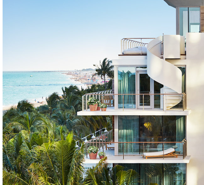 The Bungalows at the new Miami Beach EDITION.
