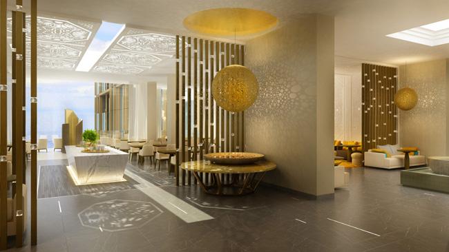 Sunrise Kempinski Hotel  in China.