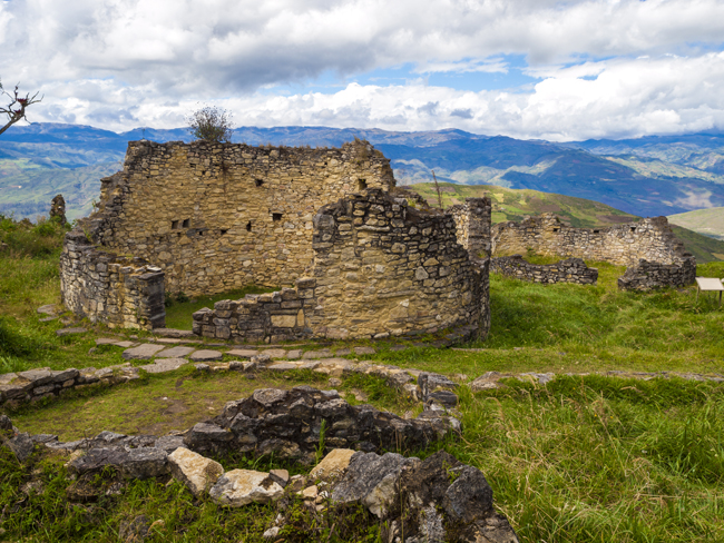 The Chachapoyas fortress of Kuelap.