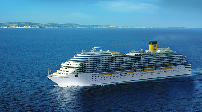 The Costa Diadema is one of the ships that will be taking travelers on the cruise part of the packages.