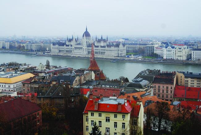 The Danube River.