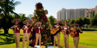 Christmas celebrations at Velas Resorts.