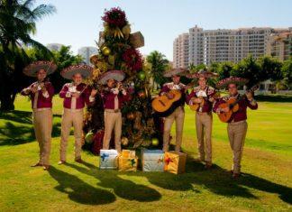 Christmas celebrations at Velas Resorts.