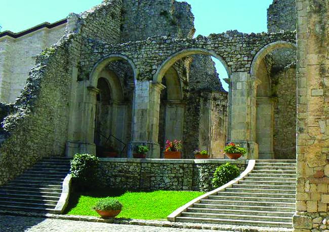 The Abbey of  Goleto in Sant'Angelo dei Lombardi.