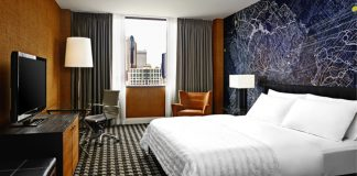 Le Meridien Charlotte King City View.