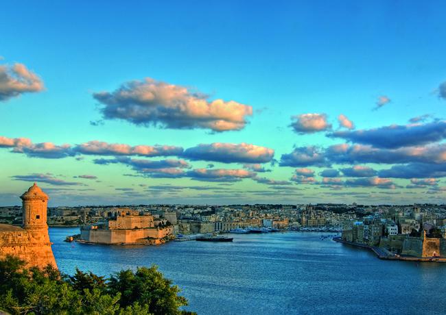 The Grand Harbour in Valletta. (Photo credit: Clive Vella.)