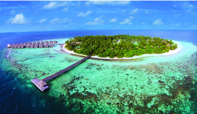 Outrigger Resorts property in the Maldives.