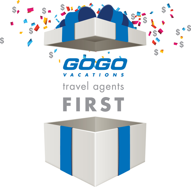 GOGO Vacations' new campaign rolls out Jan. 1.