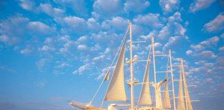Windstar sails to Tahiti.(Photo courtesy of Windstar Cruises.)