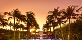 Pool side at The Seta, Miami Beach.