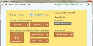 AgentMax is a new tool to help agents sell travel insurance.