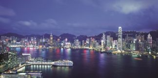 The view of Hong Kong's waterfront. (Photo courtesy of Hong Kong Tourism Board.