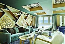 The very chic Altapura Hotel in Val Thorens.