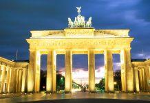 The Berlin Brandenburg Gate.