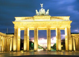 The Berlin Brandenburg Gate.