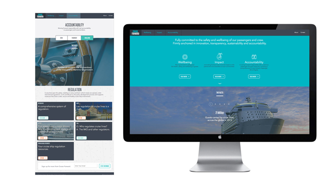 CLIA's cruiseforward.org gets a revamp.