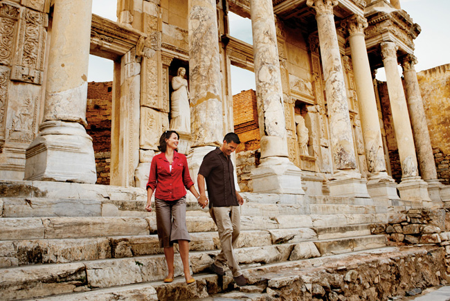 Guests can explore Ephesus while aboard Silversea Cruises with the line's new shore excursion offerings.
