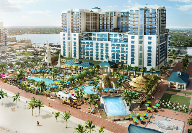 Soon to open in Hollywood, FL, is the Margaritaville Resort—one of many new hotel opening happening in Florida.