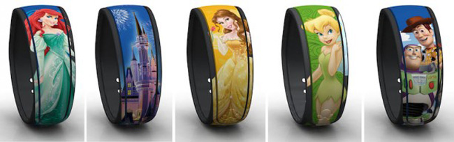 Disney's MagicBands revamped.