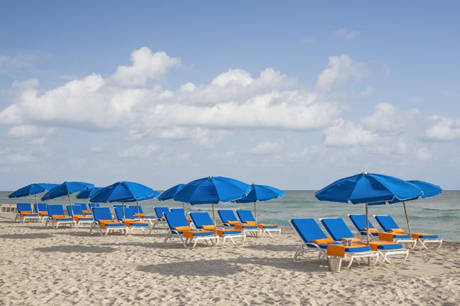 Beachside accommodations. (Photo courtesy of Circa 39.)