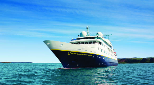 Lindblad Expedition's National Geographic's Orion will set sail for Europe.