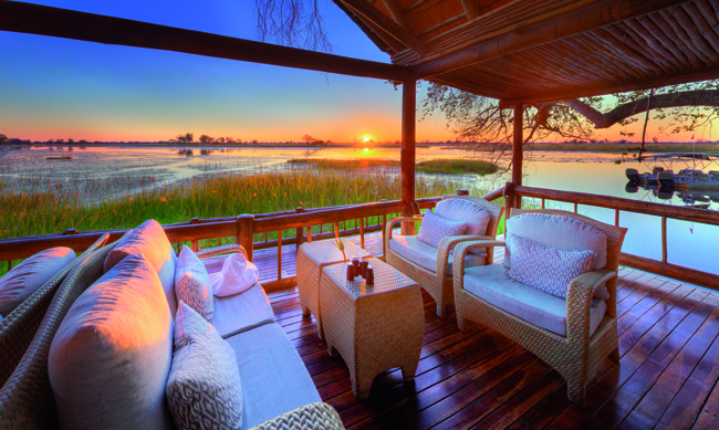 Belmond Eagle Island Lodge.