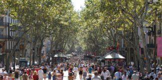 Las Ramblas in Barcelona.