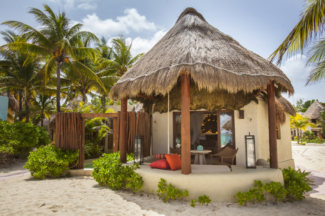 Mahekal Beach Resort opens in Playa del Carmen with bungalow accommodations.