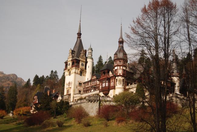 Castles in Romania.