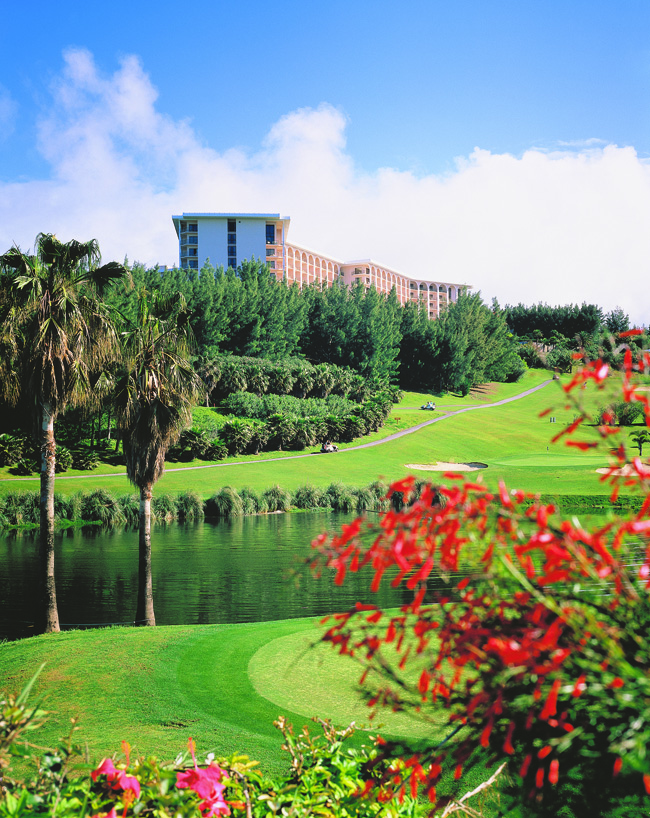 Fairmont Southampton Resorts' Turtle Hill Golf Club.