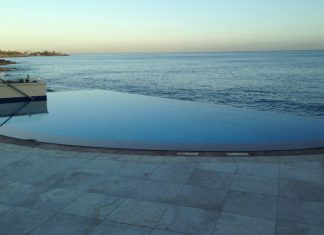 Infinity pool at the Condado Vanderbilt.