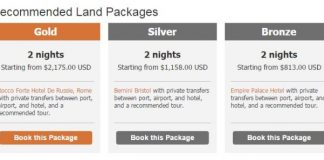 Classic Vacations' Land Packages.