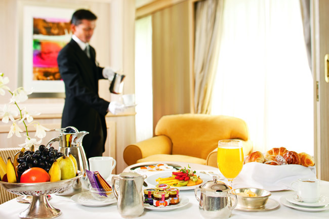Silversea Cruises, regardless of suite category, are also given butler service.
