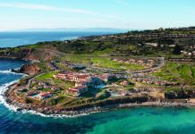 Bird's-eye view of Terranea, a Destination Resort property located in California.