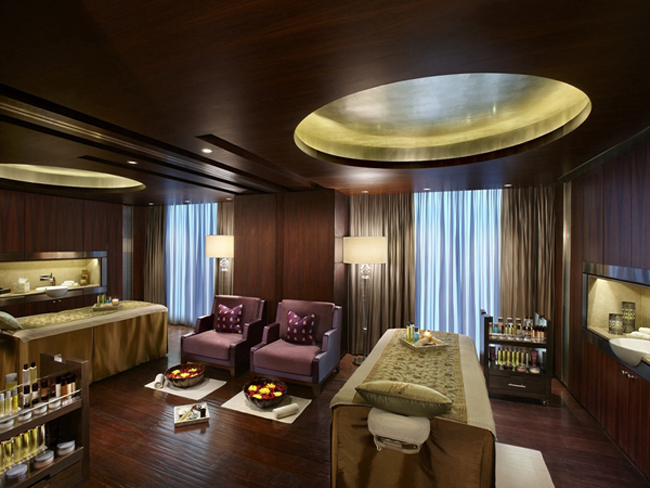 The Spa by ESPA at both The Leela Palace.