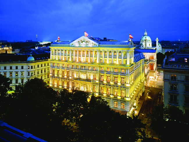 Hotel Imperial, a Luxury Collection Hotel, Vienna.