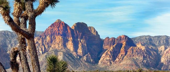 Red Rock in Las Vegas.