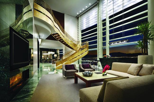 Sky Villa at Aria.
