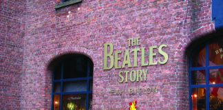 Entrance to The Beatles Story in Liverpool. (Deserae del Campo)
