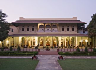 Castle Kanota is the set of the Viceroy Club in the film. (Photo Credit: Castle Kanota.)
