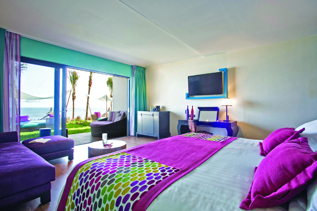 The Aguamarina accommodations.