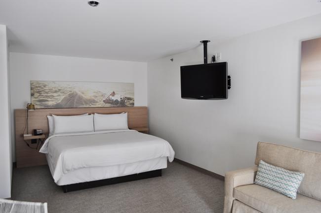 The Terrace King Suite bedroom.