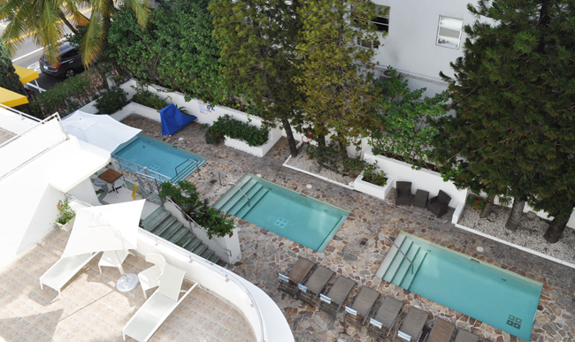 Pool Deck And Suite View From The Terrace King