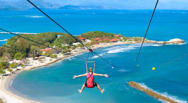 Adventure awaits at Labadee, Royal Caribbean's private island.