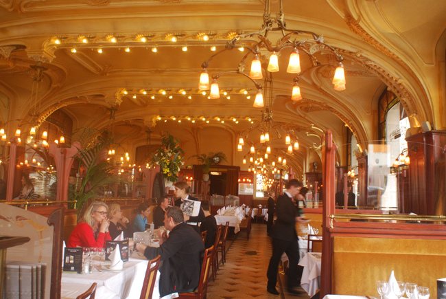 The Brasserie Excelsior restaurant in Nancy, France.